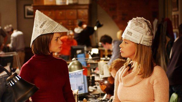 Als Rory (Alexis Bledel, l.) aus den Semesterferien zurückkommt, muss sie ent...