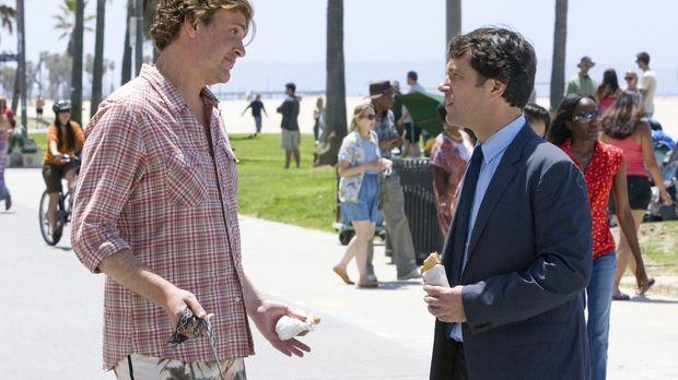 Die intensive Freundschaft mit Sidney (Jason Segel, l.) stellt Peters (Paul R...