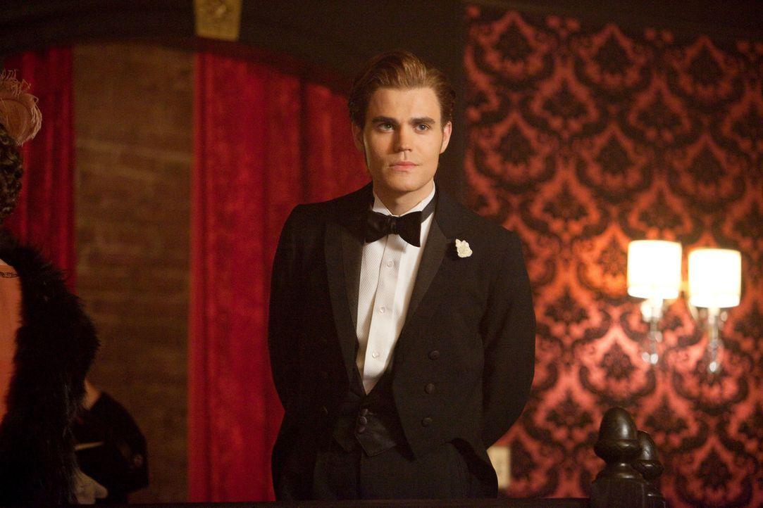 Einst war Stefan Salvatore (Paul Wesley) ein unersättlicher Vampir, der keine Gelegenheit des Blutsaugens ausgelassen hat ... - Bildquelle: © Warner Bros. Entertainment Inc.