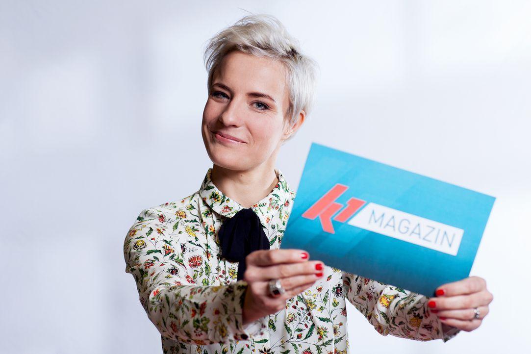 """Seraphina Kalze präsentiert das """"K1 Magazin"""" ... - Bildquelle: Stefan Hobmaier kabel eins"""