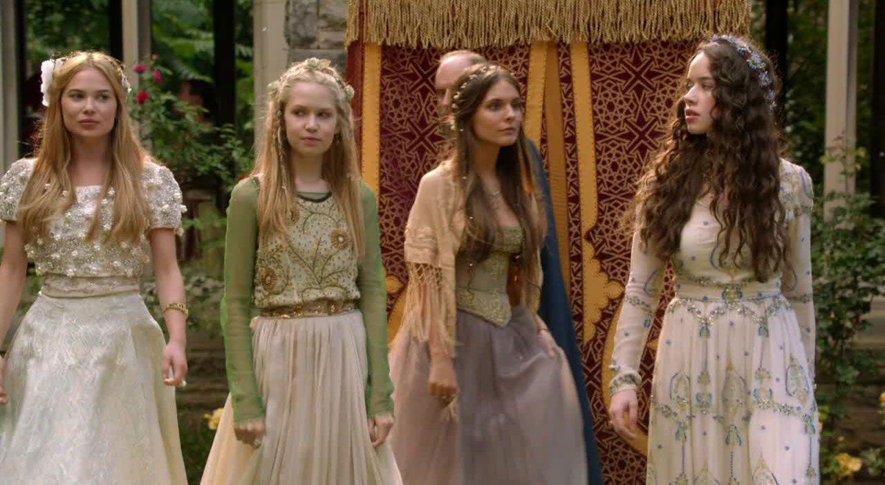 Lola, Greer, Aylee und Kenna - Bildquelle: 2014 The CW Network. All Rights Reserved.
