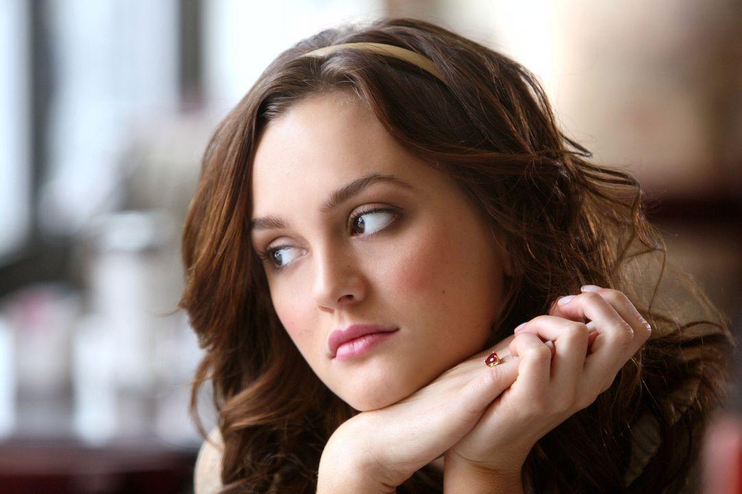 Blair (Leighton Meester) muss erfahren, dass ihr Vater nicht zum Feiertag nach Hause kommt. Sie ist bitter enttäuscht ... - Bildquelle: Warner Brothers
