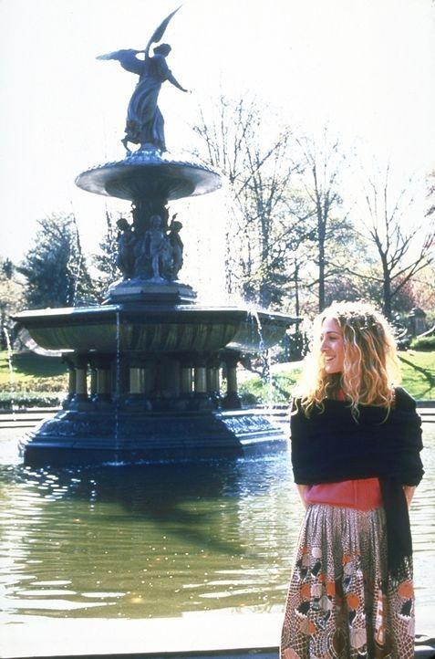 Carrie (Sarah Jessica Parker) hat die neue Beziehung zu Ben, den sie im Park kennen gelernt hat, ruiniert ... - Bildquelle: 2001 Paramount Pictures