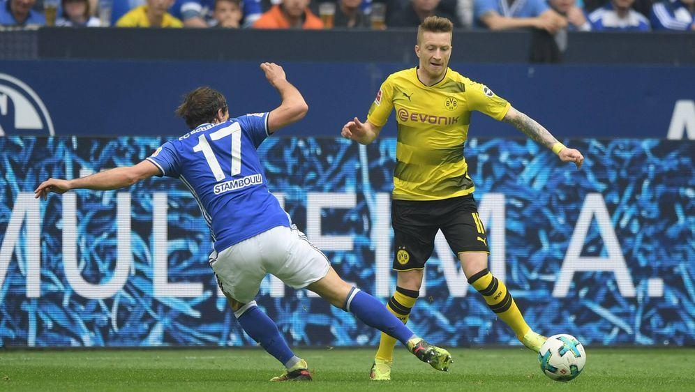 Es ist wieder soweit. Das Revierderby zwischen Schalke 04 und Borussia Dortm... - Bildquelle: imago