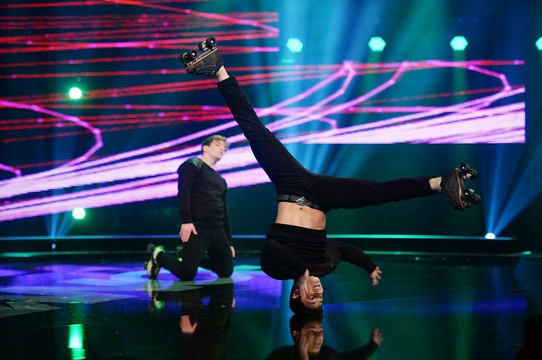 Got-To-Dance-Vanilla-Skate-07-SAT1-ProSieben-Willi-Weber - Bildquelle: SAT.1/ProSieben/Willi Weber