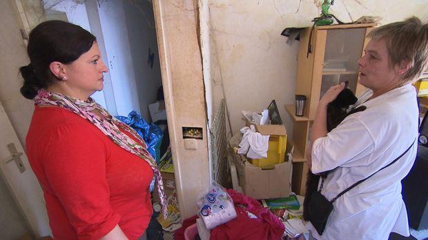 Gelingt es Nada (l.), Andrea (r.) ein neues Reich in den alten vier Wänden zu...