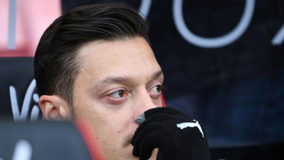 Aktuell bei Arsenal nur Ersatz: Mesut Özil - Bildquelle: PIXATHLONPIXATHLONSID
