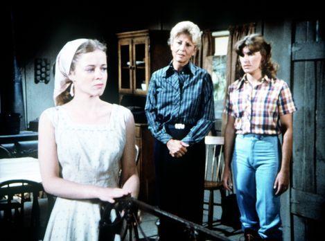 Die Waltons - Wie ungebetene Gäste behandelt die junge Darcy Thatcher (Antoin...