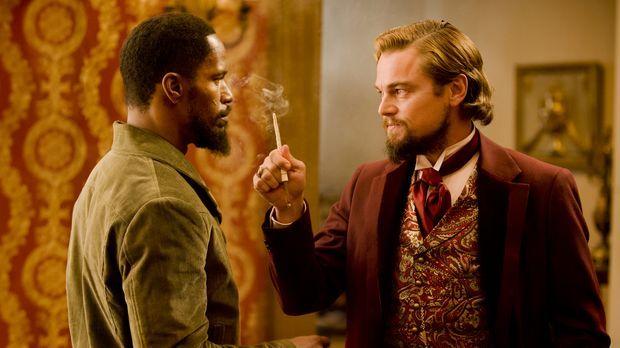 Begeht den folgenschweren Fehler, Django (Jamie Foxx, l.) zu unterschätzen: d...