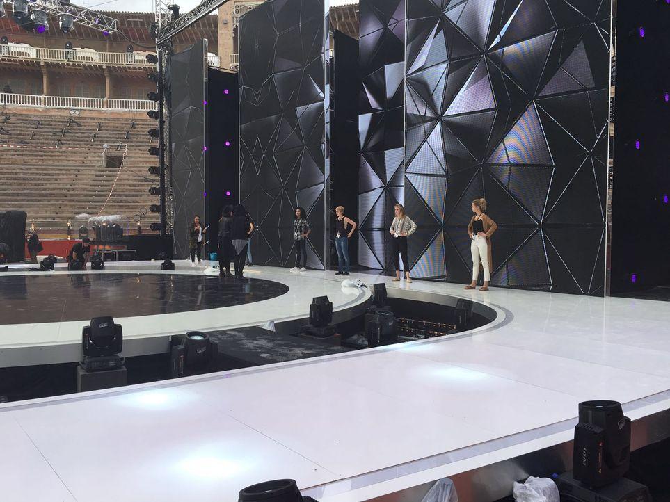 GNTM Backstage Finalwoche_2 - Bildquelle: ProSieben