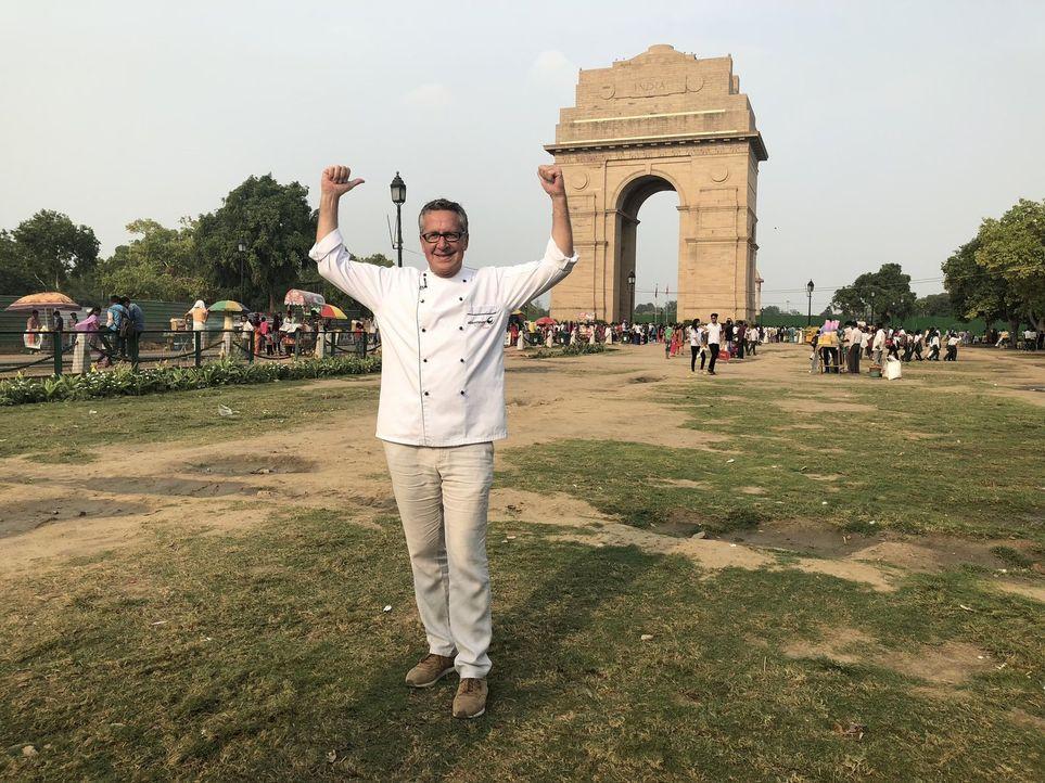 Dirk Hoffmann begibt sich auf Weltreise, um die Lieblingsgerichte der Deutschen zu finden. Diesmal ist er in Indien ... - Bildquelle: kabel eins