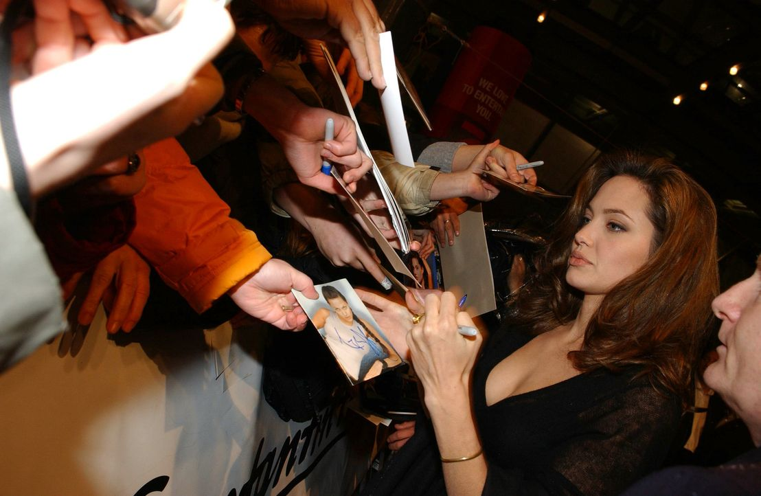 """Angelina Jolie bei der Premiere von """"Alexander"""". - Bildquelle: Constantin Film"""