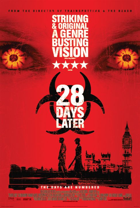 28 Days Later - Plakatmotiv - Bildquelle: 2002 Twentieth Century Fox Film Corporation. All rights reserved.