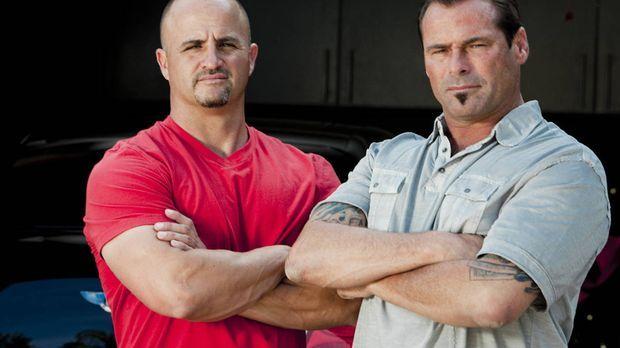 Jetzt wollen es Antonio (Antonio Palazzola, r.) und Steve (Steve McHugh, l.)...