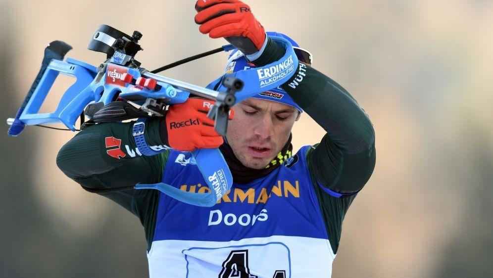 Bester Deutscher auf Position sechs: Simon Schempp - Bildquelle: AFPSIDCHRISTOF STACHE