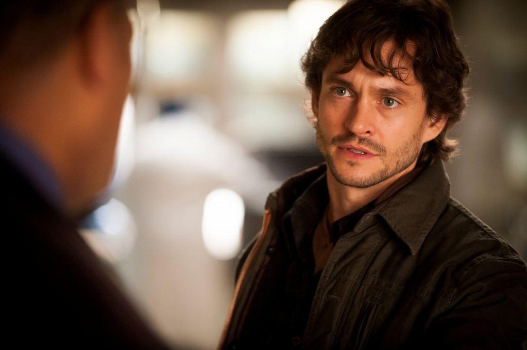 Will Graham (Hugh Dancy) will Jack davon überzeugen, dass Georgia ermordet war und es sich nicht, wie Jack behauptet, um Selbstmord handelt ... - Bildquelle: Brooke Palmer 2013 NBCUniversal Media, LLC
