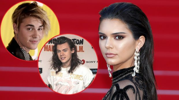 """One Direction""-Star Harry Styles: Kendall Jenner nur in Justin Bie..."