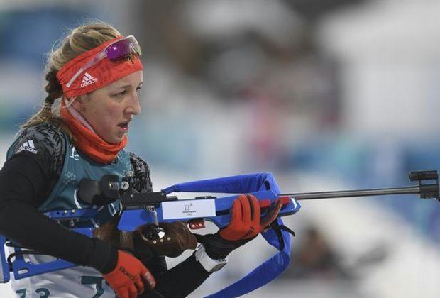 Franziska Preuß mit viertem Platz im Biathlon-Einzel