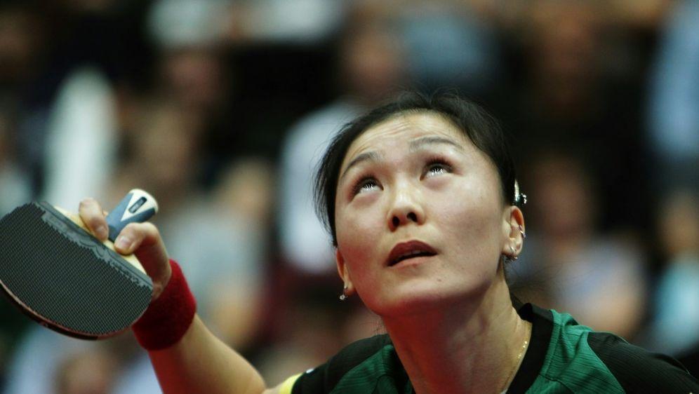 Gab nur einen Satz ab im Final Four: Shan Xiaona - Bildquelle: PIXATHLONPIXATHLONSID
