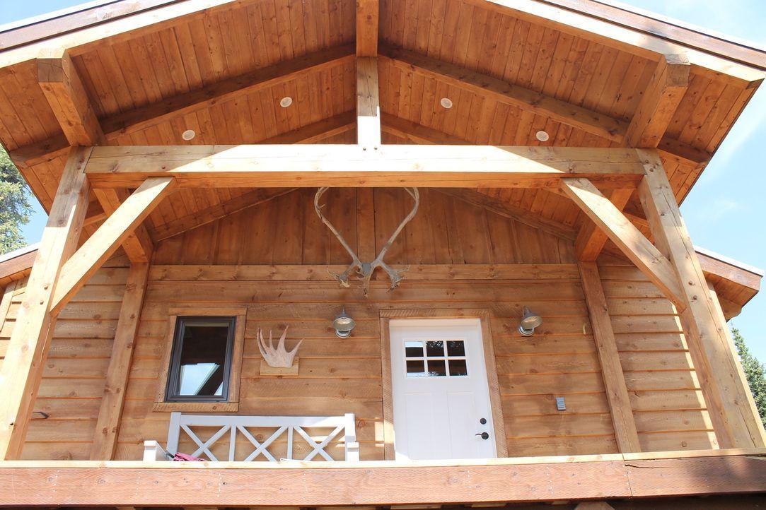 Ein Traumhaus in der Wildnis ... - Bildquelle: 2015, DIY Network/Scripps Networks, LLC. All Rights Reserved.