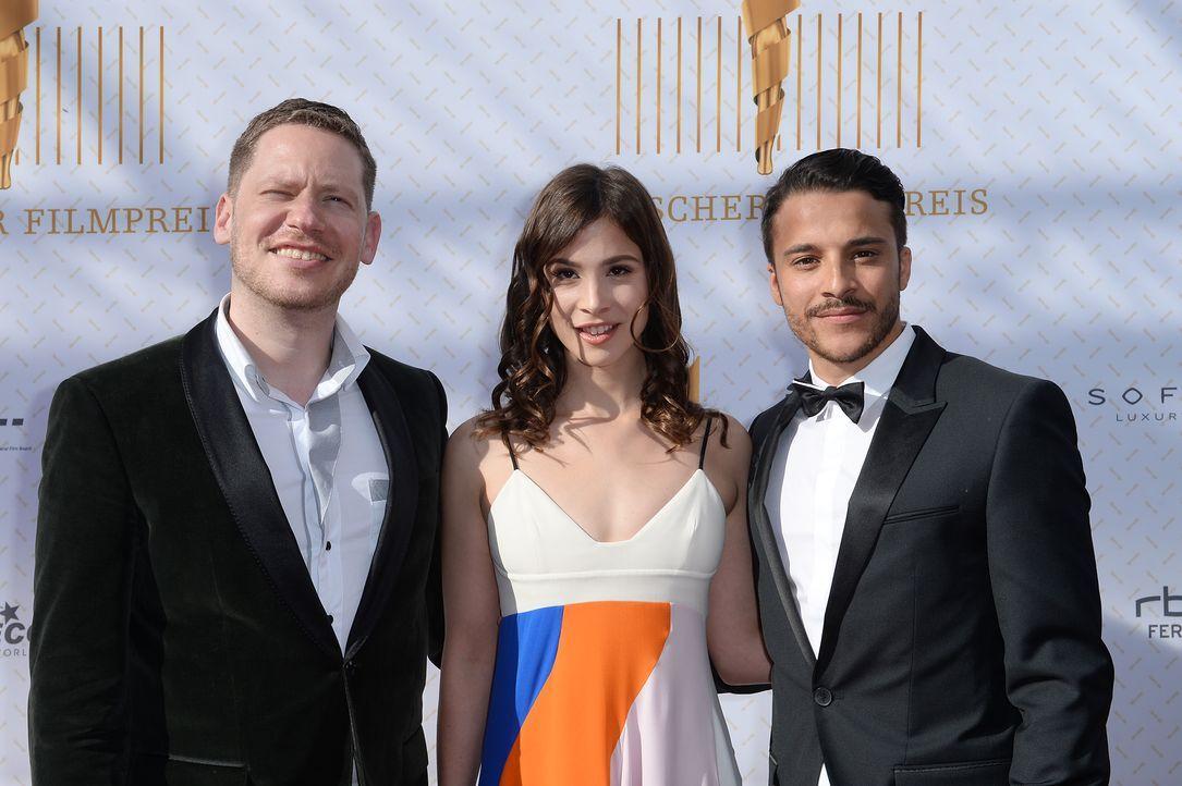 Deutscher-Filmpreis-Lola-Aylin-Tezel-Marco-Kreuzpaintner-Kostja-Ullmann-140509-dpa - Bildquelle: dpa