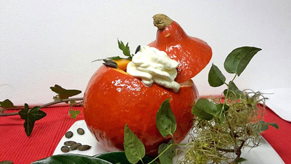 Kuerbis-Ingwer-Suppe