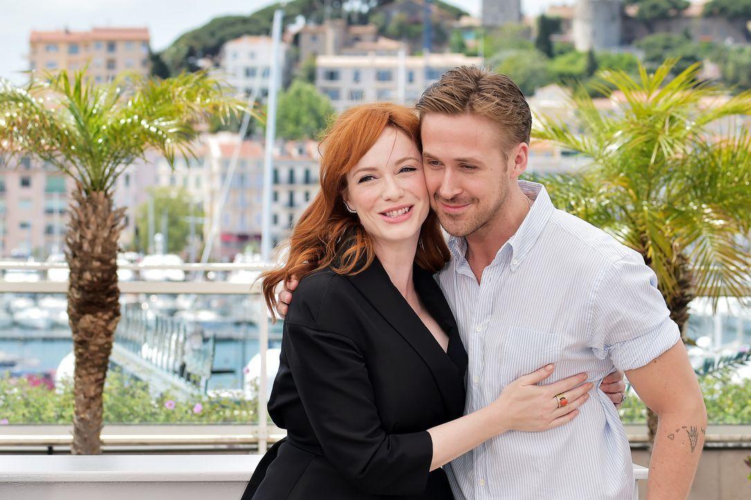 Cannes-Filmfestival-Christina-Hendricks-Ryan-Gosling-140520-AFP - Bildquelle: AFP