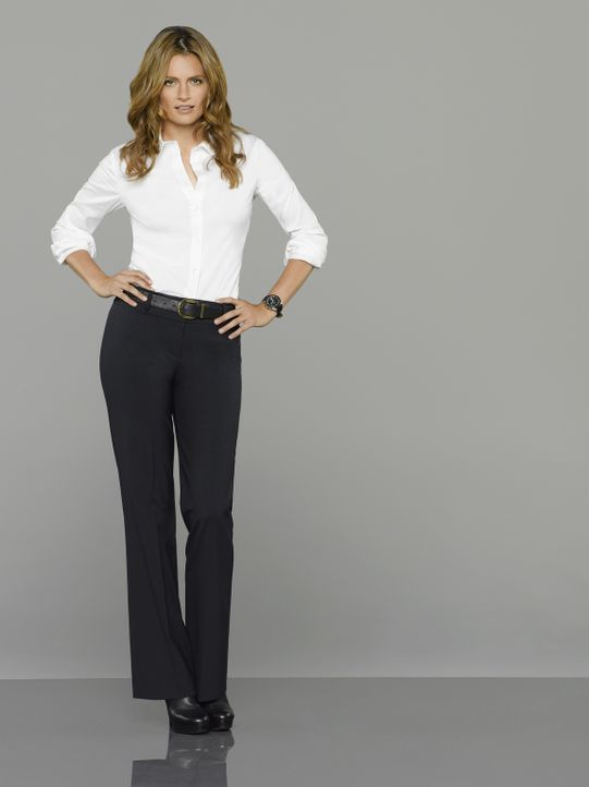 (7. Staffel) - Die hartnäckige Detektivin Kate Beckett (Stana Katic) hat eine Vorliebe für außergewöhnliche Fälle, die in kein Schema passen. - Bildquelle: ABC Studios