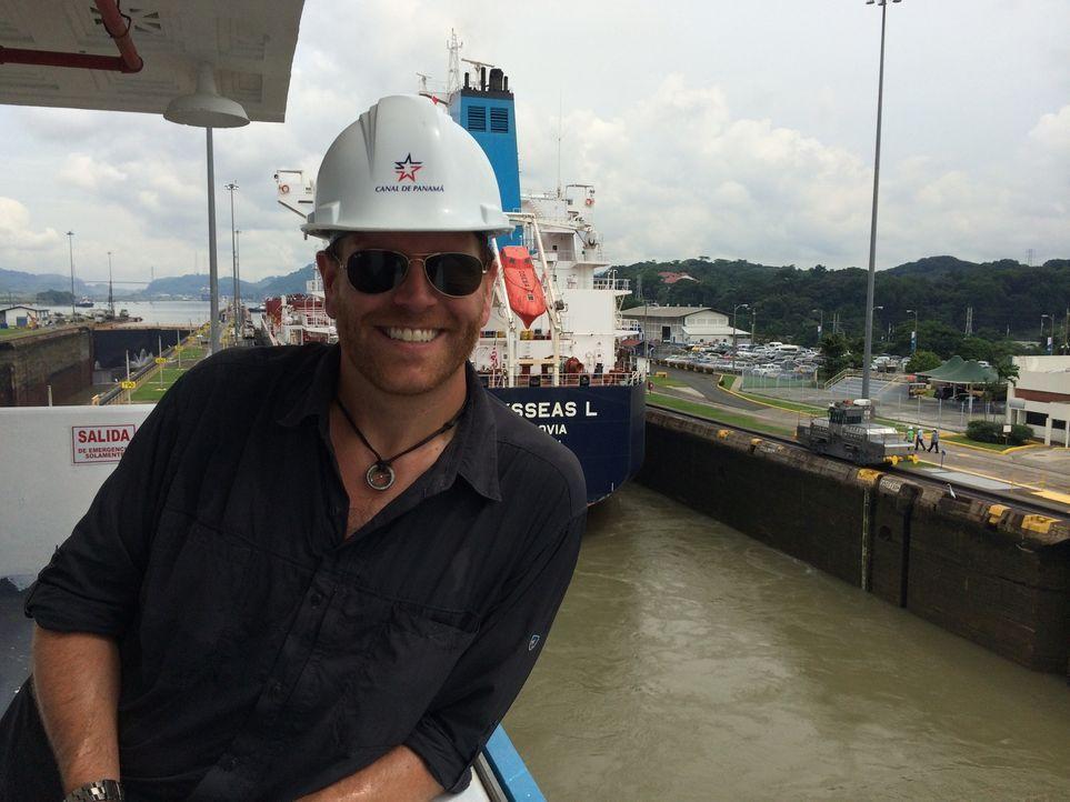 Im Lajas-Riff vor der Küste Panamas fanden Archäologen ein Schiff des berühmten Piraten Captain Morgan - liegt hier auch sein Schatz begraben? Auf d... - Bildquelle: 2015, The Travel Channel, L.L.C. All Rights Reserved.