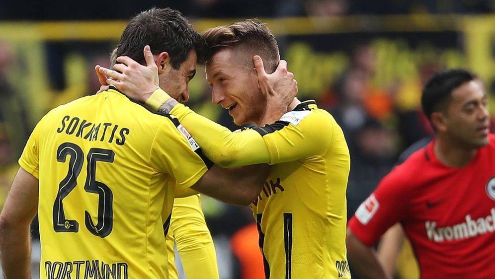 Dortmund Gegen Eintracht Frankfurt Live Im Tv Stream Ticker