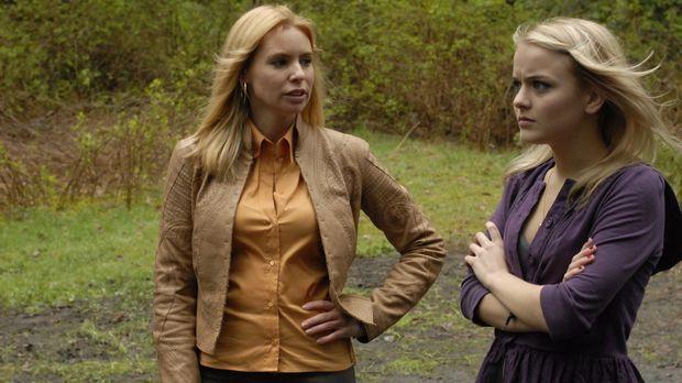 Jack Carters Ex-Frau Abby (Olivia D'Abo, l.) taucht plötzlich in Eureka auf u...