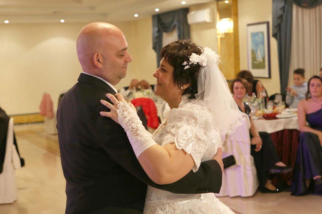 Das Brautpaar Cavaliere möchte den schönsten Tag in ihrem Leben noch einmal erleben ... - Bildquelle: SAT.1