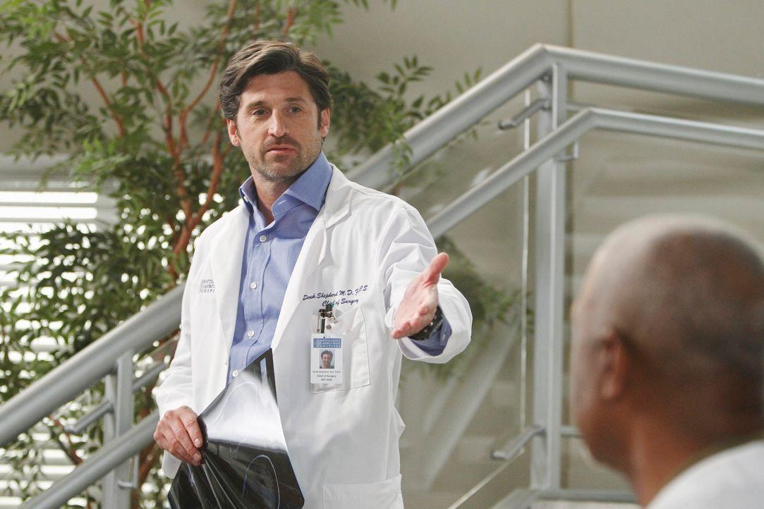 Die Ärzte des Seattle Grace kehren nach dem Amoklauf in das Krankenhaus zurück, doch die Folgen der Tat sind deutlich spürbar: Derek (Patrick Dempse... - Bildquelle: ABC Studios
