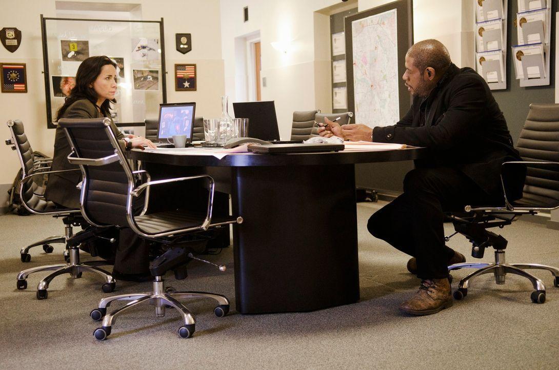 Geben alles, um einen Mörder zu fassen: Sam (Forest Whitaker, r.) und Beth (Janeane Garofalo, l.) ... - Bildquelle: ABC Studios