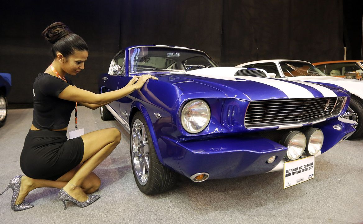 Motorsport-and-Tuning-Show-Ford-Mustang-140731-AFP - Bildquelle: AFP