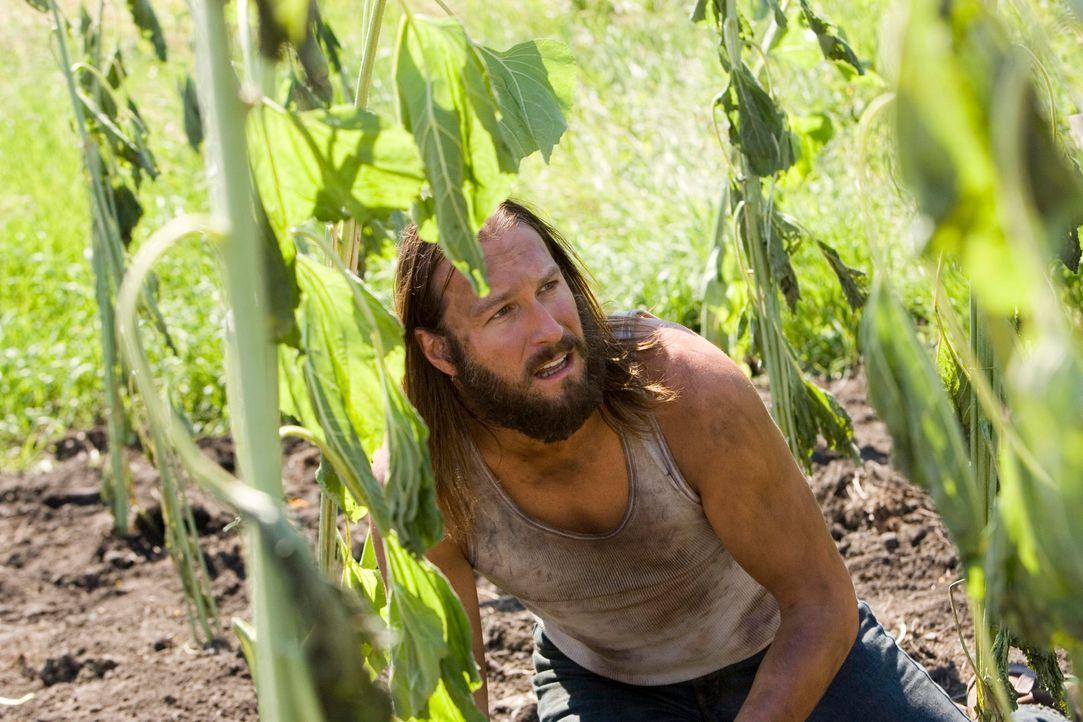 Niemand ahnt, dass Burwell Rollins (John Corbett) ein finsteres Geheimnis hütet ... - Bildquelle: 2005 GHP-3 SCARECROW, LLC.