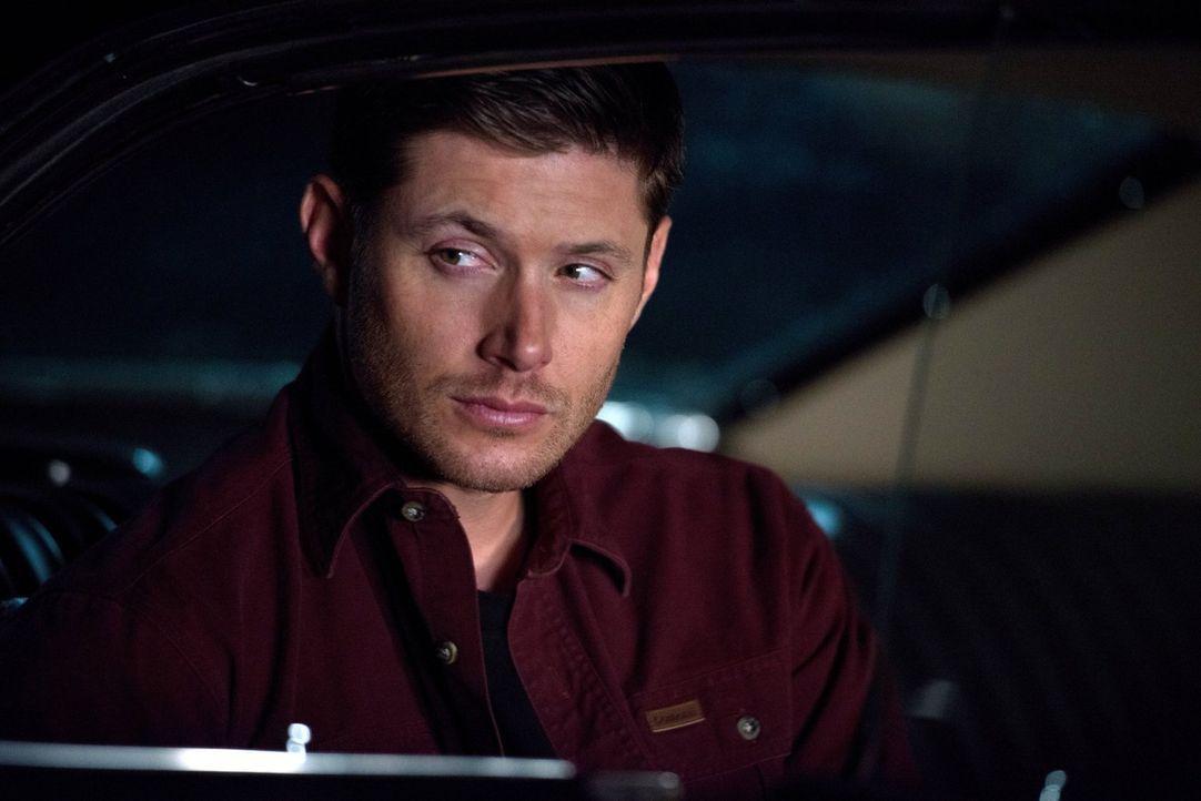 Dean (Jensen Ackles) sucht nach seiner Identität, Mensch oder Dämon, während Hannah für Castiel einen Deal aushandeln will ... - Bildquelle: 2016 Warner Brothers