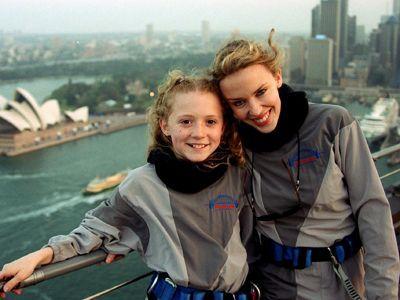 Kylie bei der Eröffnung der Olympischen Spiele in Sydney im September 2000 - Bildquelle: AFP
