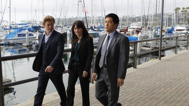 Ermitteln in einem neuen Mordfall: Patrick (Simon Baker, l.), Teresa (Robin T...