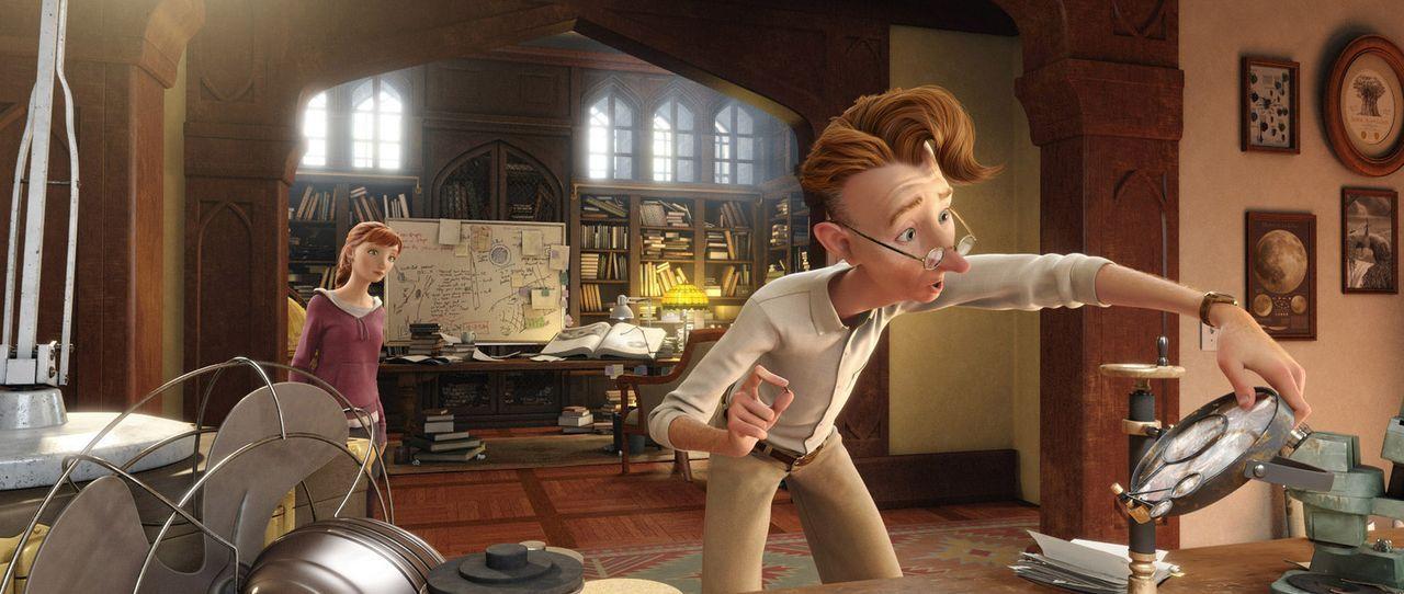 Nach dem Tod ihrer Mutter zieht Mary-Katherine (l.) bei ihrem Vater, Professor Bomba (r.), ein. Durch einen Zufall schrumpft sie auf Insektengröße u... - Bildquelle: 2013 Twentieth Century Fox Film Corporation. All rights reserved.