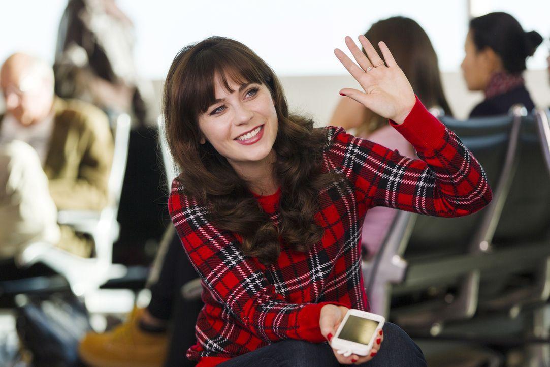 Über die Weihnachtsfeiertage möchte Jess (Zooey Deschanel) nach Hause fliegen, doch am Flughafen wartet eine Überraschung auf sie ... - Bildquelle: 2014 Twentieth Century Fox Film Corporation. All rights reserved.