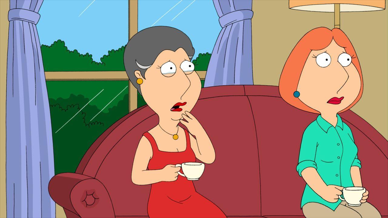 Ahnen nichts von Peters und Carters Geheimnis: Lois (r.) und ihre Mutter Barbara (l.) ... - Bildquelle: Twentieth Century Fox Film Corporation. All rights reserved.