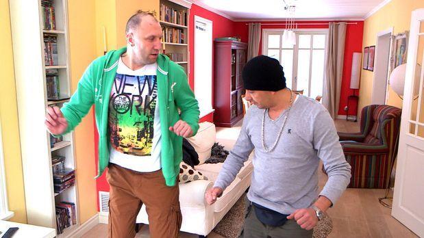 Patchwork Family - Michael (l.) und Holger (r.) sind eifersüchtig. Um ihren P...