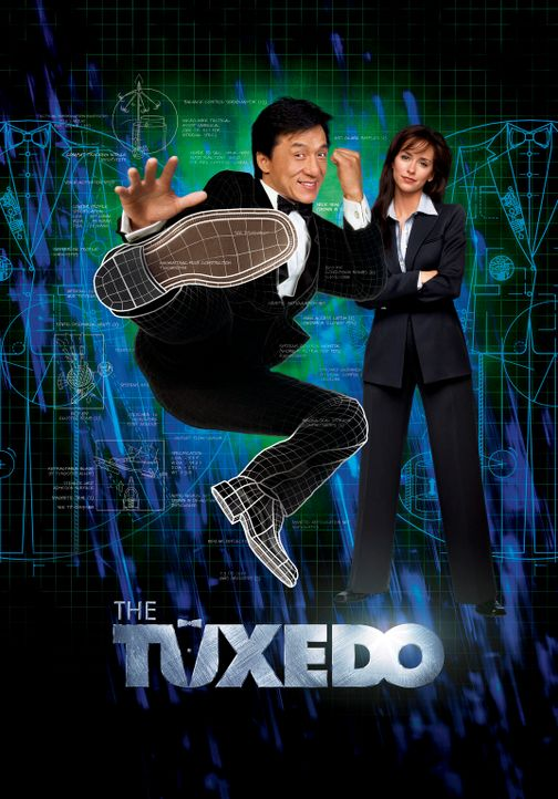 The Tuxedo - Gefahr im Anzug - mit Jackie Chan, l. und Jennifer Love Hewitt, r. - Bildquelle: TM &   2002 DreamWorks LLC. All Rights Reserved