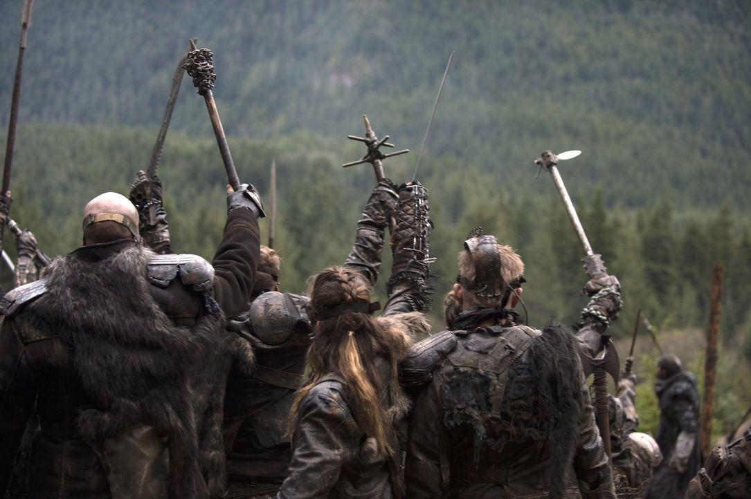 Ziehen in einen Kampf, der sie alle umbringen oder ihnen endlich Triumpf einbringen wird ... - Bildquelle: 2014 Warner Brothers