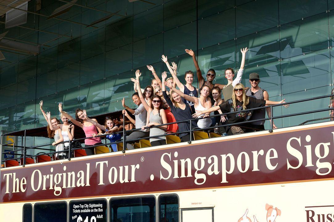 GNTM-Stf09-Epi01-Singapur-Ankunft-04-ProSieben-Oliver-S - Bildquelle: ProSieben/Oliver S.