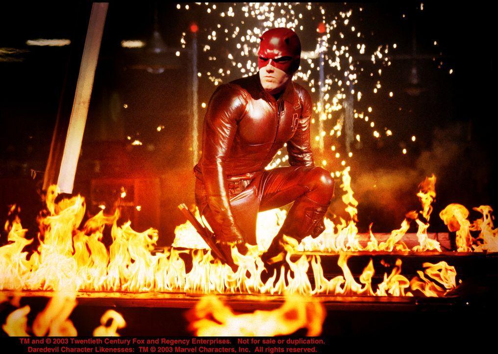 Wieder einmal setzt Daredevil (Ben Affleck) ein deutliches Zeichen ... - Bildquelle: 20th Century Fox