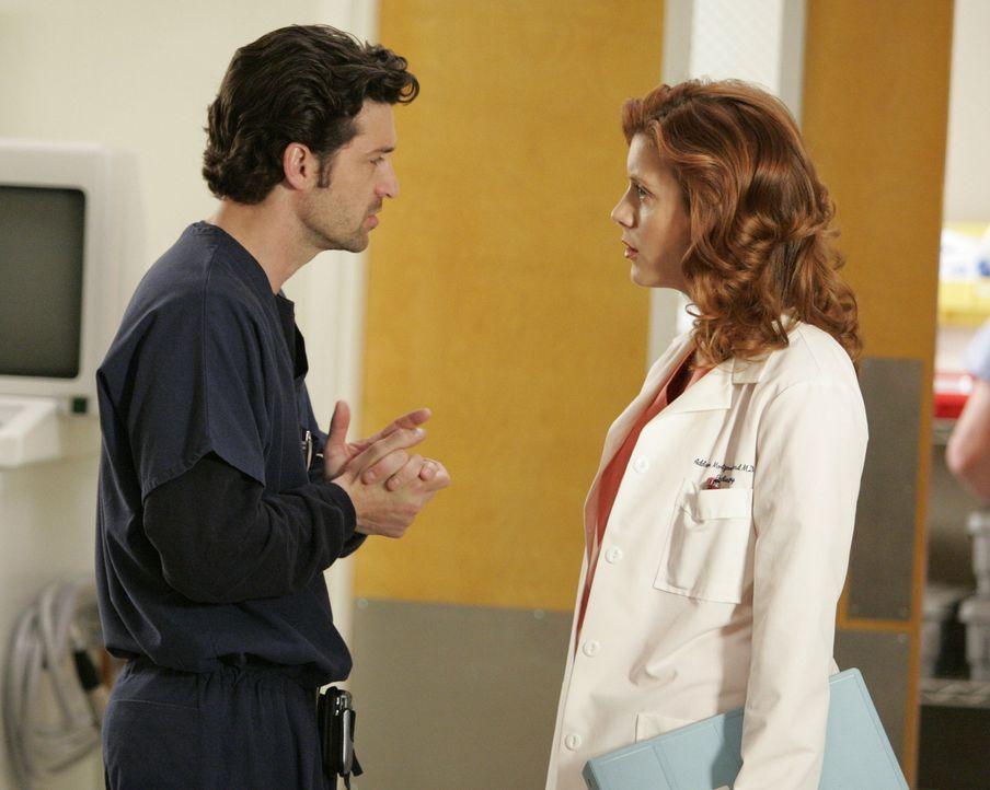 Dereks (Patrick Dempsey, l.) Leben ist auch nicht gerade angenehm, denn Webber hat seine Frau Addison (Kate Walsh, r.) nach Seattle geholt, um bei e... - Bildquelle: Touchstone Television