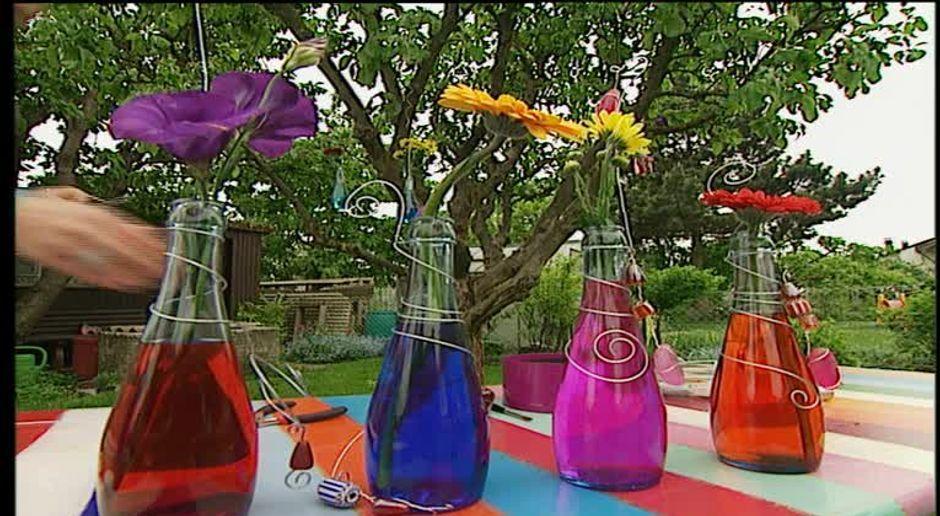 Baumschmuck Basteln Aus Alten Glasflaschen Sat 1 Ratgeber