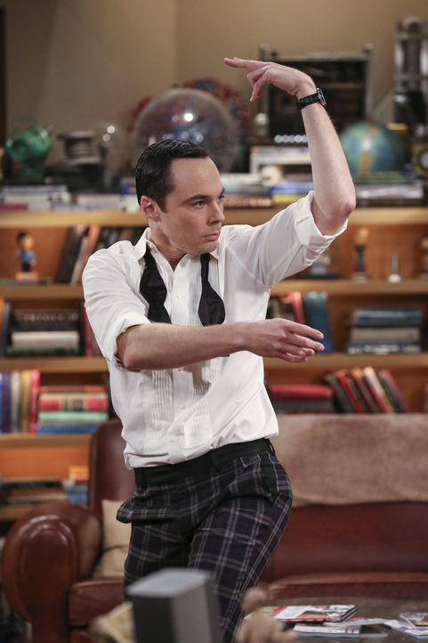 Brutzeit-Alarm: Sheldon (Jim Parsons) tut wirklich alles, um Amy von seiner Fortpflanzungsidee zu überzeugen. Mit Erfolg? - Bildquelle: 2016 Warner Brothers
